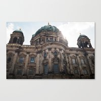 castle in the sky Canvas Prints featuring Castle by Snail,Snail
