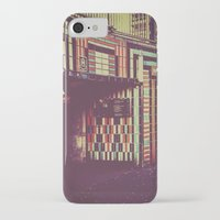 subway iPhone & iPod Cases featuring Subway by Efua Boakye