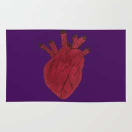 Anatomical Heart Rug
