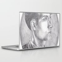 alex turner Laptop & iPad Skins featuring Alex Turner Drawing by annelise johnson