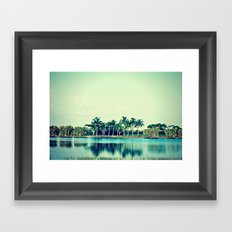 You can Jump Right In Framed Art Print
