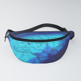 Royal Blue Turquoise Agate Fanny Pack