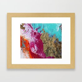 FLUID NINE Framed Art Print