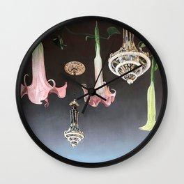La Luz de los Flores Wall Clock