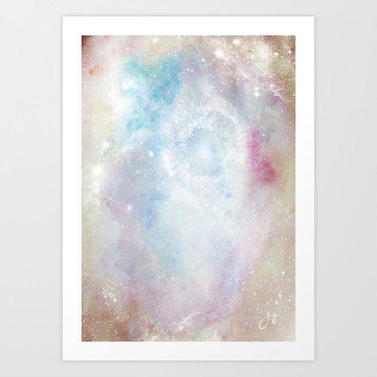 Space Implode Art Print