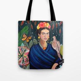 Frida et sa nature vivante Tote Bag