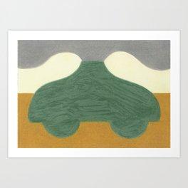 The Onion Soup Car Art Print