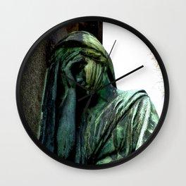 Statue #4 Wall Clock