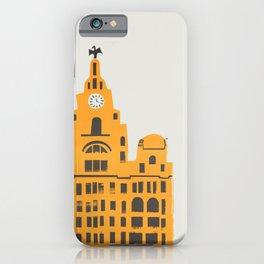 Liver Building Liverpool iPhone Case