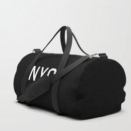 New York City - NY, USA (Black Monogram) Duffle Bag