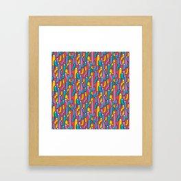 gusanitos Framed Art Print