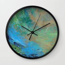 ABSTRACT COLORS 6 Wall Clock