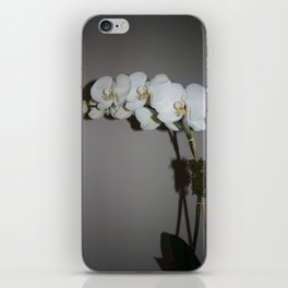 White Orchid iPhone Skin