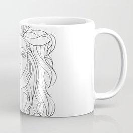 Picasso's Muse Sketch Coffee Mug