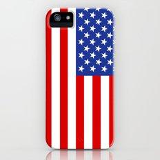 united states of america flag Slim Case iPhone (5, 5s)