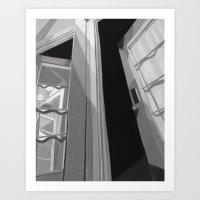 Bedroom Door Art Print