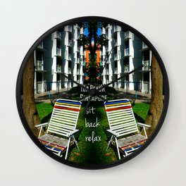 RELAX@HDB Wall Clock