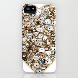 FerrHeart iPhone Case