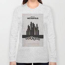 Fritz Lang's Metropolis Alternative Minimalist Poster Long Sleeve T-shirt