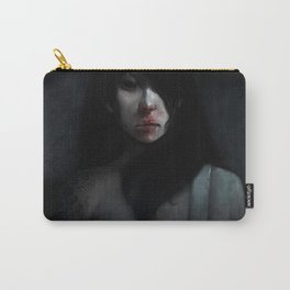 Portrait of Ikuko's Ghost Carry-All Pouch
