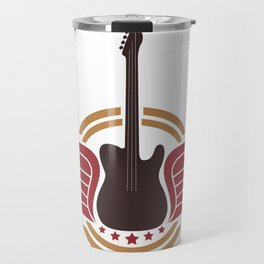 Guitar Player - Guitar Player Gift Travel Mug