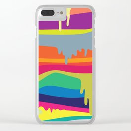 Melt On Clear iPhone Case