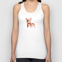 frenchie Tank Tops featuring Frenchie by 52 Dogs