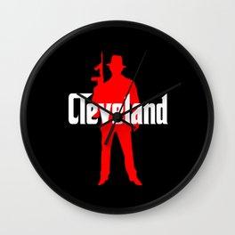 Cleveland mafia Wall Clock
