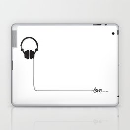 For the love of music 2.0 Laptop & iPad Skin