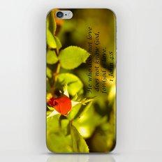 His Love iPhone & iPod Skin