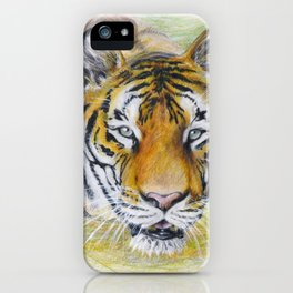 Hoover Tiger iPhone Case
