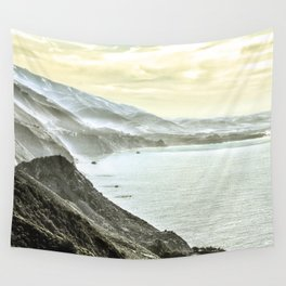 Somewhere over Big Sur. Wall Tapestry
