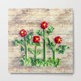 Pepper flowers (23) Metal Print