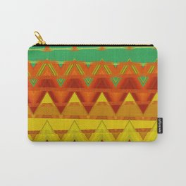 Indien Triangle Pattern Art Carry-All Pouch
