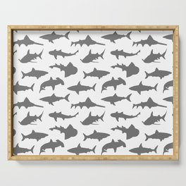 Grey Sharks Serving Tray