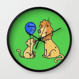 Hooman Zoo Wall Clock