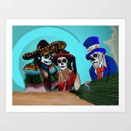 Dia de Los Imigrantes Art Print