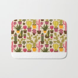 Cactus Cuties Bath Mat