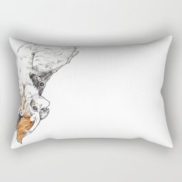 Friendly Cockatoo Rectangular Pillow