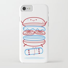 Street burger  iPhone Case