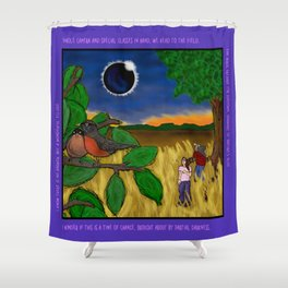 Solar Eclipse Dream Shower Curtain