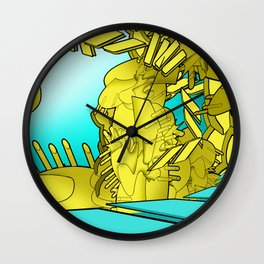 AUTOMATIC WORM 1 Wall Clock