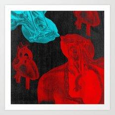 Stolen Hearts (Les coeurs volés) Art Print