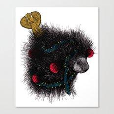 Christmas Porcupine Tree Canvas Print