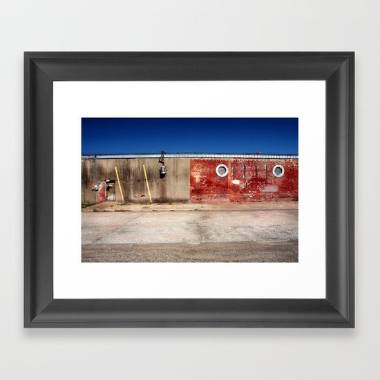 Exit, Stage Right Framed Art Print