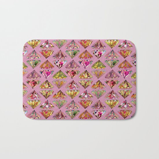 These Diamonds Are Forever Bath Mat
