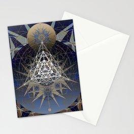 Space Dance Soul Vehicle Mandala Stationery Cards