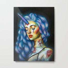 Unicorn tears Metal Print