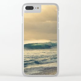 Waves of Light Clear iPhone Case