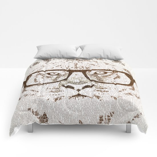 The Hipster Tiger Comforters